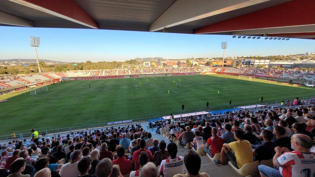 Estadio Nuevo Mirador. Algeciras CF - Andorra CF